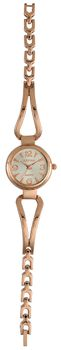 Digitime Bangle Analogue Watch - Rose Gold