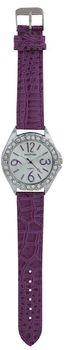 Digitime Sage Analogue Watch - Purple
