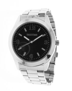 Digitime Gallant Analogue Watch - Silver