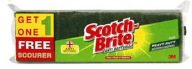 Scotch-Brite - No.35 Heavy Duty Scourers - 3 Plus 1 Free