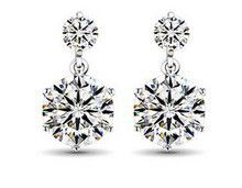 Treasures Elegant Crystal Stud Earrings