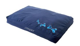 Rogz - 83cm x 56cm x 10cm Dog Bed - Navy Zen