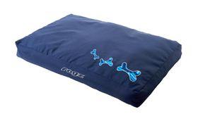 Rogz - 129cm x 86cm x 12cm Dog Bed - Navy Zen