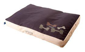 Rogz - 129cm x 86cm x 12cm Dog Bed - Mocha Bone