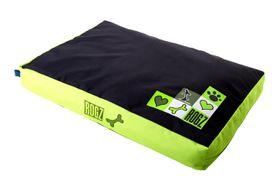 Rogz - Medium Flat Pod Dog Bed - Lime Juice Design