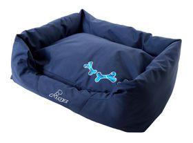Rogz - Small Spice Pod Dog Bed - Navy Zen Design