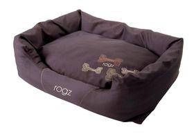 Rogz - Small Spice Pod Dog Bed - Mocha Bone Design