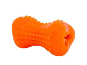 Rogz - Yumz 116mm Treat Dog Toy - Orange