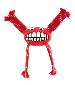 Rogz - Flossy Grinz 190mm Oral Care Dog Toy - Red