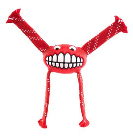 Rogz - Flossy Grinz 230mm Oral Care Dog Toy - Red