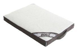 Rogz - Medium Flat Lounge Pod Dog Bed - Grey