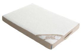 Rogz - Medium Flat Lounge Pod Dog Bed - Stone