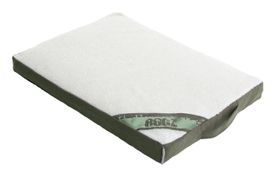 Rogz - Medium Flat Lounge Pod Dog Bed - Olive