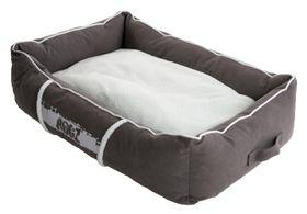 Rogz - Medium Lounge Pod Large Dog Bed - Grey