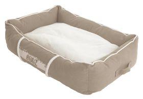Rogz - Lounge Pod Dog Bed - Stone