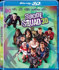Suicide Squad (3D + 2D Blu-ray)