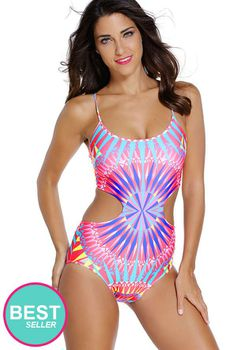 Lu-May Kaleidoscope Monokini