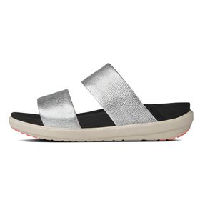FitFlop Loosh Slide - Silver