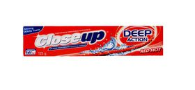 Close Up Deep Action Toothpaste Red Hot - 125g
