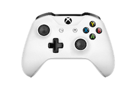 Xbox One Wireless Controller - White (Xbox One)