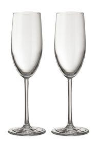 Jamie Oliver - Waves 250ml Champagne Glasses - Set Of 2