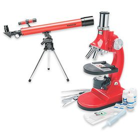 Tasco Telescope & Microscope Value Bundle