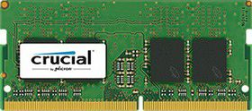 Crucial 8GB DDR4 2400MHz SO-DIMM Single Rank
