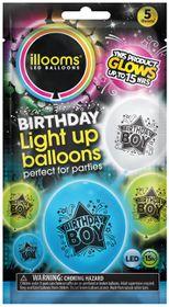 IIlooms Light Up Happy Birthday - Birthday Boy