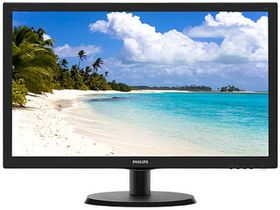 "Philips 223V5LHSB 21.5"" Wide LED Monitor"