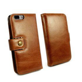 Tuff-Luv Alston Craig Vintage Leather case for iPhone 7 Plus / 8 Plus - Brown