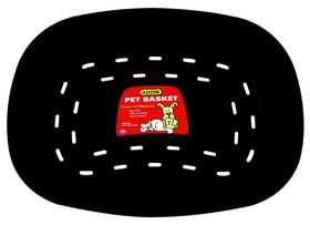 Addis - Pet Basket - Medium - Black