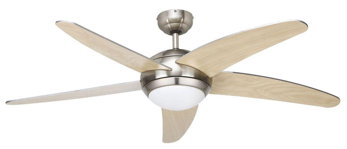 Bright star lighting bright star 132cm 5 blade ceiling fan bright star 132cm 5 blade ceiling fan satin mozeypictures Images