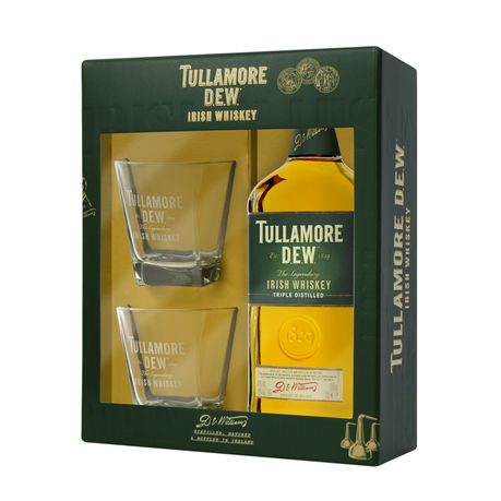 Tullamore Dew - Gift Set with 2 Glasses - 750ml | Buy Online in South Africa | takealot.com