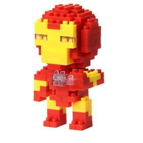 Diamond Blocks Iron Man