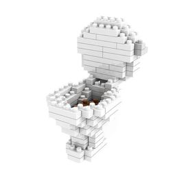 Diamond Blocks Toilet