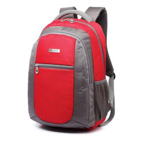 "BLACK Buzz 15.6"" Backpack - Red"