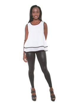 Glamzza Ladies Classy Comfy Popover Top (Size: One Size Fits All)