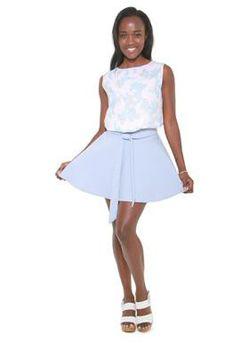 Glamzza Ladies Pretty - Pastel Top (Size: S-M)