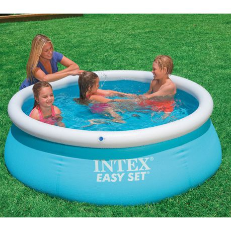 Intex Inflatable Swimming Pool Easy Set Edition
