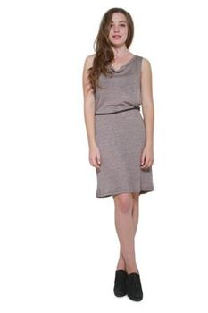 Glamzza Ladies Belted Open Side Knit Dress (Size: One Size Fits All)