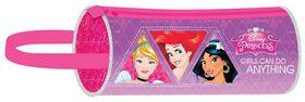 Disney Princess 25cm Barrel Pencil Case