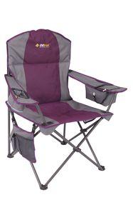 Oztrail - Kokomo Cooler Arm Chair - Purple - 130kg