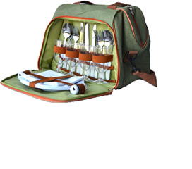 Eco - Four Person Picnic Backpack - CA6416