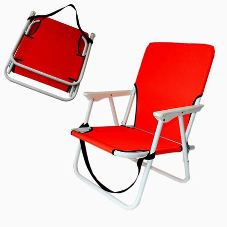 Eco Beach Chair Red