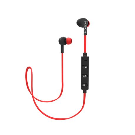 d575b527c63 Body Glove Free Bluetooth earphones - Red | Buy Online in South ...