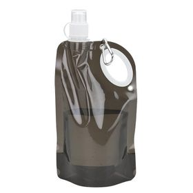 Eco - 740ml Water Bottle With Drinking Sprout and Carry Handle - Black