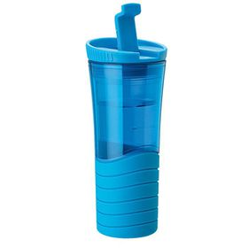 Eco - 450ml Double Wall Wavy Mug - Blue