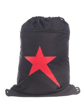 Soviet Drawstring Sack - Black/Red