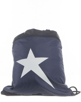 Soviet Drawstring Sack - Navy/Black