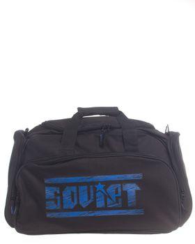 Soviet Gym/Travel Bag - Black & Royal Blue